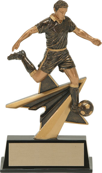 Soccer (M) Aztec Gold Star Power Trophy