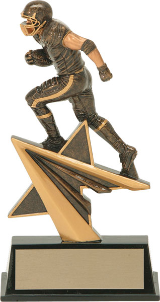 Football Aztec Gold Star Power Trophy