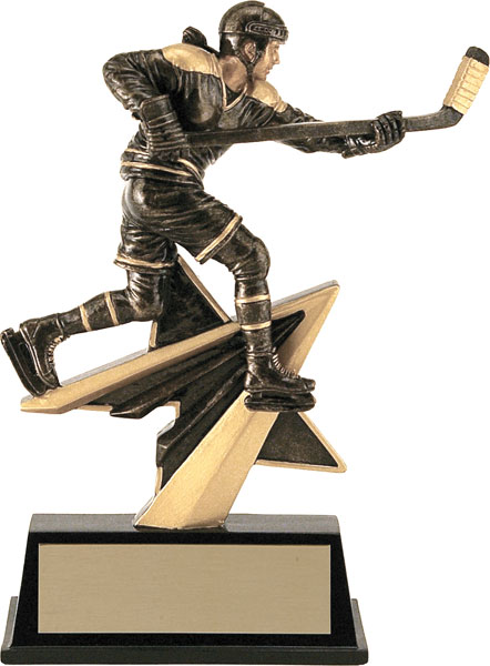 Hockey (F) Aztec Gold Star Power Trophy