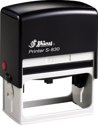 "Shiny S-830 Self-Inking Stamp (3"" x 1 1/2"")"