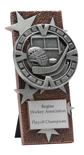 Hockey Varsity Easel Plaque